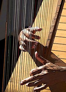 Harpist.