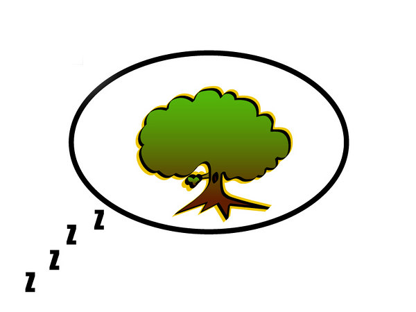 Dreaming Tree...literally.  I'll make this a shirt one day.