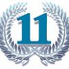 11 eleven laurel wreath