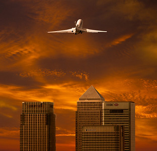 Photo: Dassault Falcon Photoshop: Tom Jenkins This is the end result of a photo supplied by Dassault for an ad.