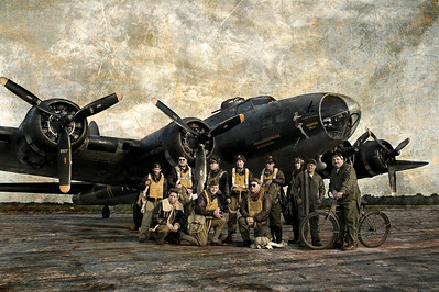Photo Paul Bowen Photoshop: Tom Jenkins B-17