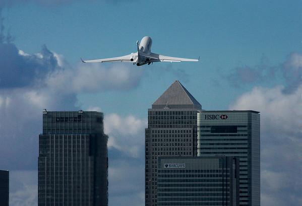 Photo: Dassault Falcon The original photo supplied by Dassault.