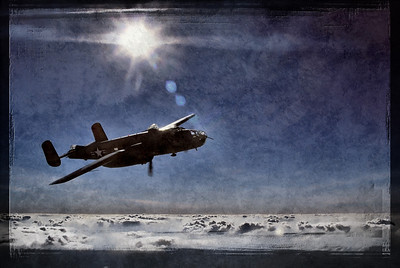 Photo Paul Bowen Photoshop: Tom Jenkins North American B-25