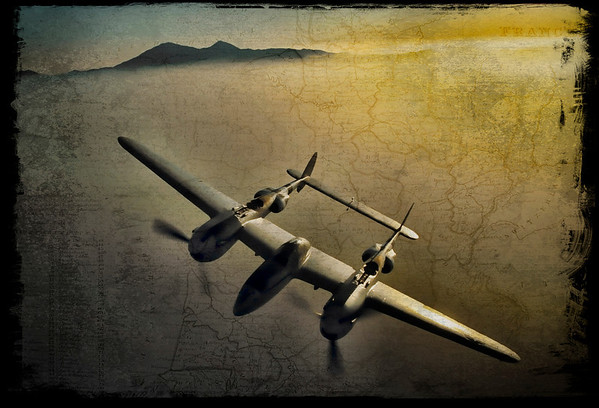 Photo Paul Bowen Photoshop: Tom Jenkins P-38
