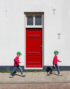 Passing the red door