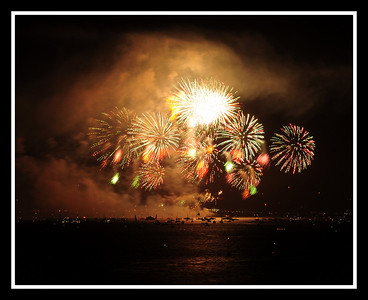 Golden Gate Bridge 75th Anniversary Fireworks Show !