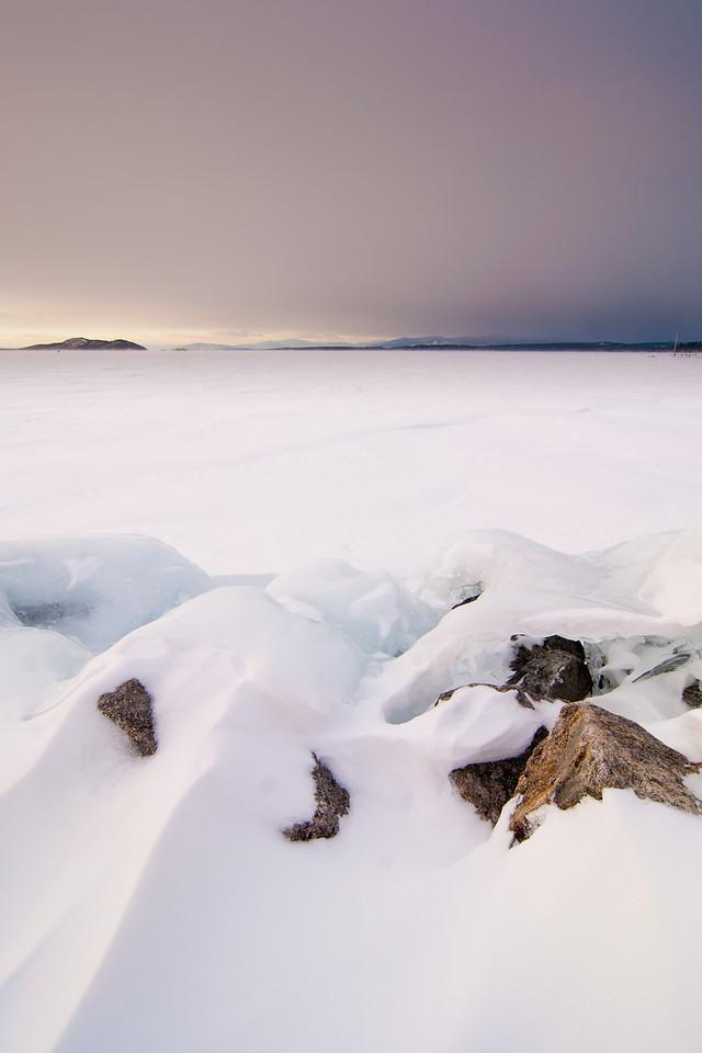 Lake Winnipesaukee, New Hampshire February 2013