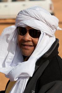 Mel Pleasant in the Sahara