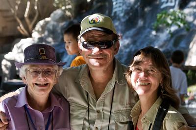 Bernice Noll, Michel Girardin, and Doc Jean