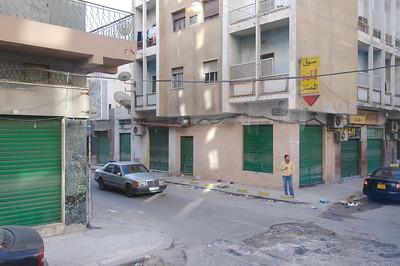 The streets of Tripoli, Libya