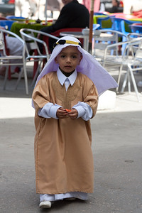 Children dressed up for the Prophet's Birthday 2006
