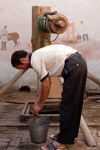 Karez water well