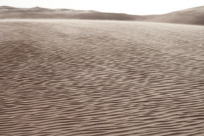 Sand dunes of the Sahara in Libya