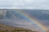 Rainbow over the Kilauea Caldera
