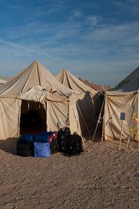 Eclipse camp near Jalu, Libya