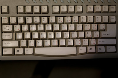 An Arabic PC keyboard