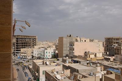 Tripoli Libya as seen from the Kenedy Hotel
