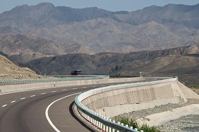 Tianchi Lake road