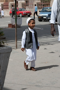 Children dressed up for the Prophet's Birthday 2006