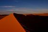 Sunset over the Sahara