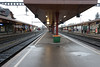 Train station in Wetzikon Switzerland