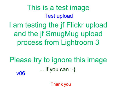 This is a sample test title