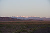Sunrise over the tianjin mountains in the Gobi