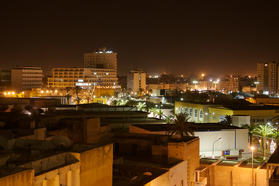 Night in Tripoli, Libya