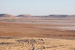 Just over the border inside Alergia near Ghadames, Libya