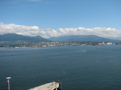 Accross the bay in Vancouver