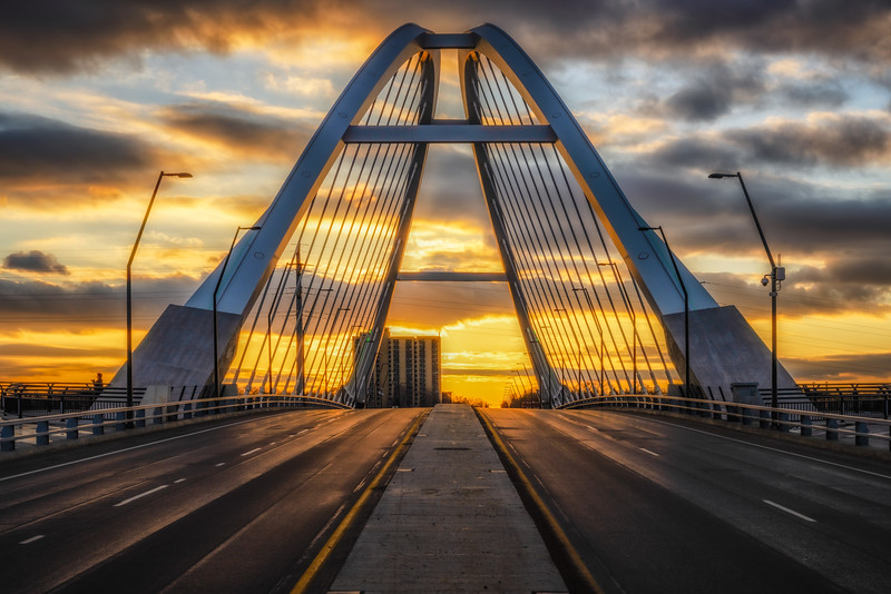 Lowry Bridge Sunset