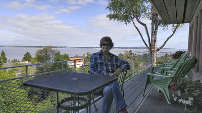 Back for the last time at Susitna Place B&B in Anchorage.  A lovely place, but no bears!