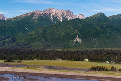 Looking back on Silver Salmon Creek as we begin our flight back to Anchorage.