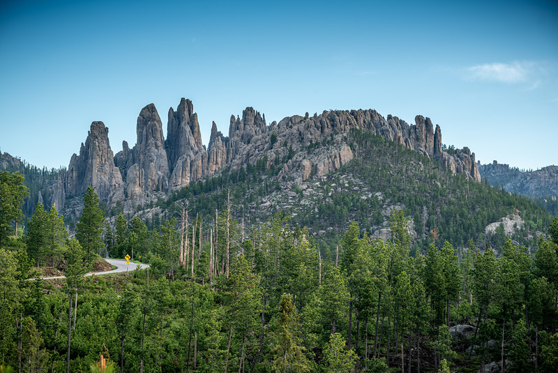 Needles Highway Curve