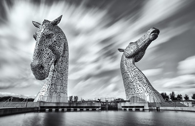 20180922 - Kelpies Long Exposure