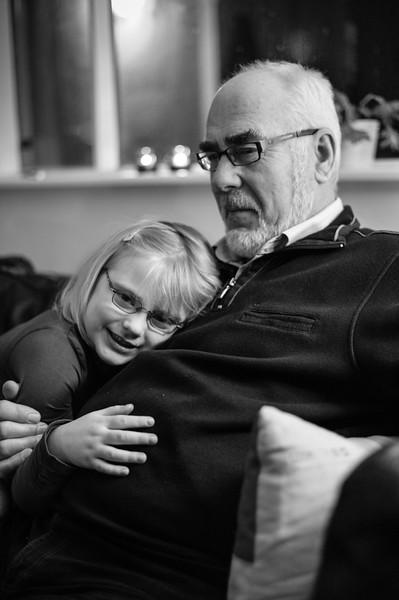 Hekla og farfar