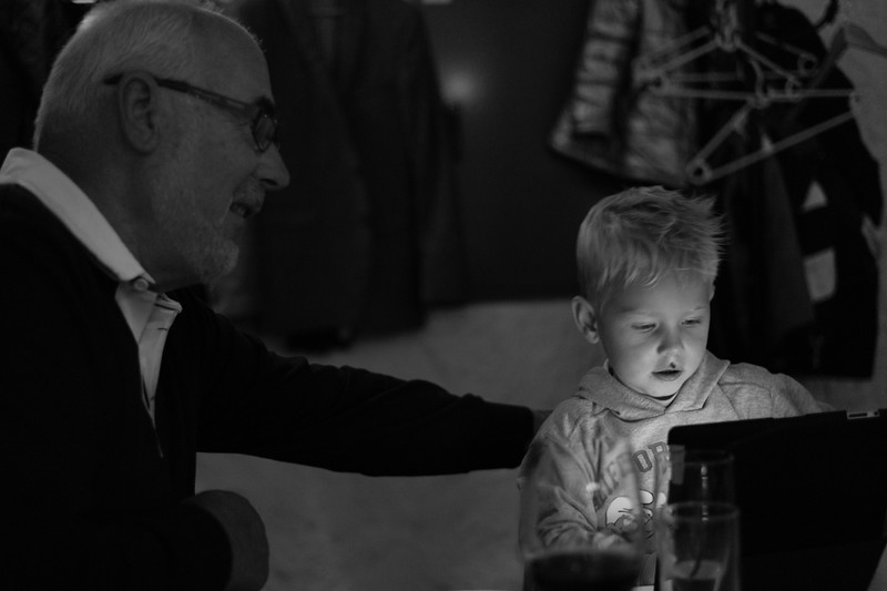 Victor og morfar
