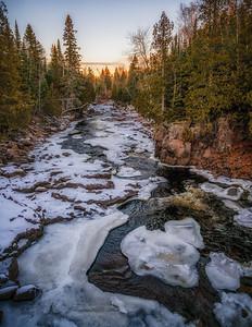 Upstream on the Temperance