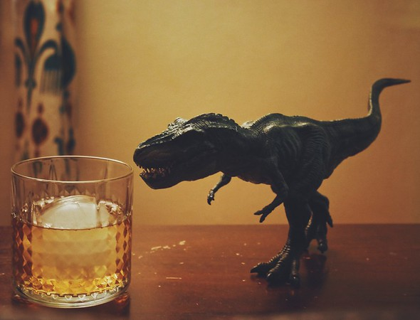 His Vision's Based on Movement... and Whiskey