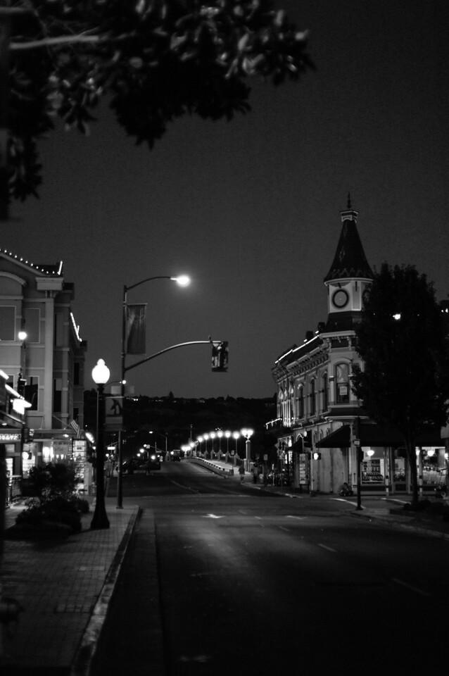 Napa by night