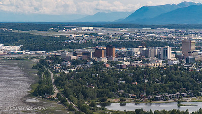 Downtown Anchorage.  Not going to like having to return to civilization!