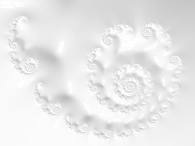 20190929 - White Spirals