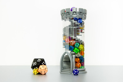 20190210 - Double-Helix Dice Tower