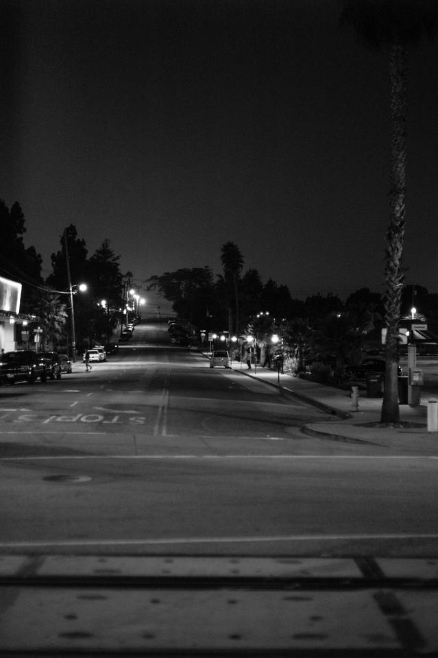 Santa Cruz by night