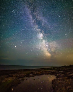 Milky Way from Agate Beach