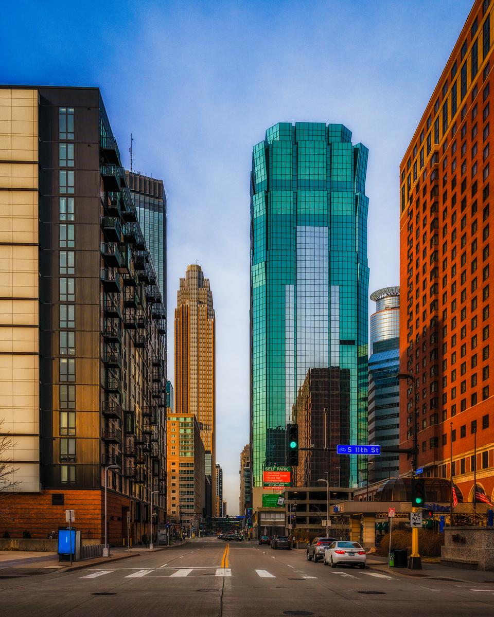 Blue Hour in Minneapolis