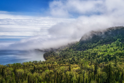 Fog Over Mt. Josephine