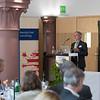 Christof Schenck giving a speech at the Parlamentarischer Abend, Hessen - Land der Naturwälder, Hessischer Landtag. Wiesbaden, Hessen, Germany. © Daniel Rosengren
