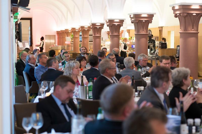 People at the Parlamentarischer Abend, Hessen - Land der Naturwälder, Hessischer Landtag. Wiesbaden, Hessen, Germany. © Daniel Rosengren