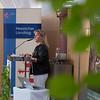 Ursula Hammann (Vizepräsidentin des Hessischen Landtags) giving a speech at the Parlamentarischer Abend, Hessen - Land der Naturwälder, Hessischer Landtag. Wiesbaden, Hessen, Germany. © Daniel Rosengren